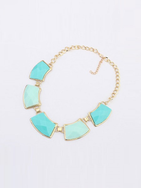 Latest Occident All-match Elegant Geometry Hot Sale Necklace