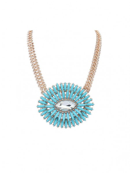 Latest Occident Fashionable Oval Simple Fresh Hot Sale Necklace