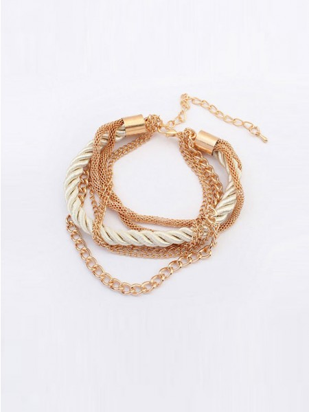 Latest Occident All-match Woven Multi-layered Hot Sale Bracelets