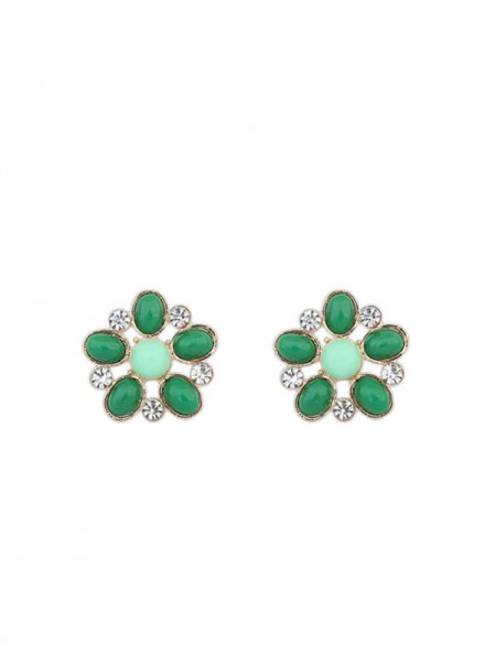 Latest Occident Bohemia Big Flower Style Stud Hot Sale Earrings