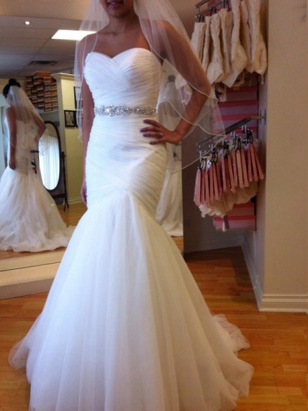 Mermaid Sweetheart Court Train Beading Tulle Wedding Dresses
