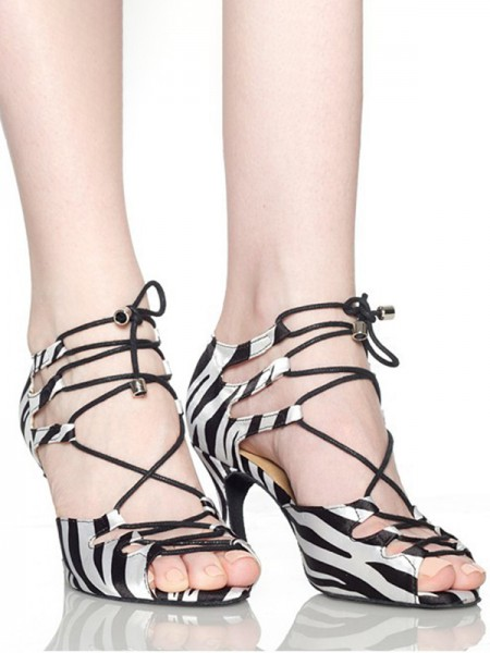 Latest Women's Other Peep Toe With Lace-up Stiletto Heel Sandals